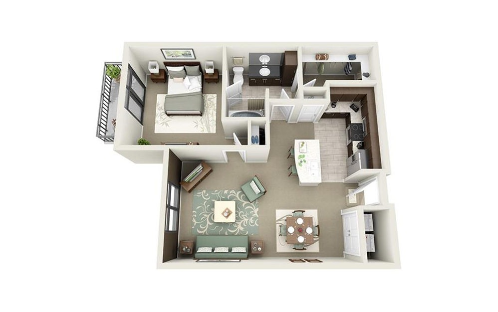King available studio one and two bedroom apartments - 2 bedroom apartments in charleston sc ...